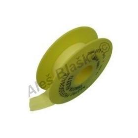 Teflonová páska na plyn (plynová) (na závity)