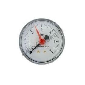 Manometr zadní vývod rozsah 0-6 bar - tlakoměr