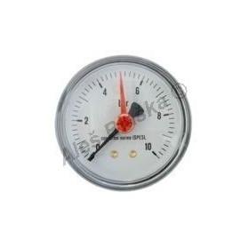 Manometr zadní vývod rozsah 0-10 bar - tlakoměr