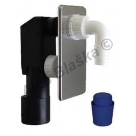EPPN450 Sifon pračkový podomítku nerez INOX - odpad k pračce myčce
