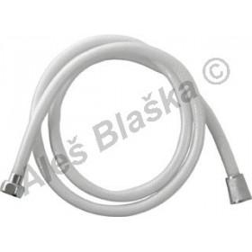 Sprchová hadice plastová tlaková bílá (hadička ke sprše)
