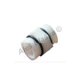 Nylonová vsuvka pro spojení dvou filtrů (filtrace vody-vodní filtr)