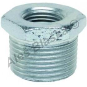 Redukce pozinkovaná (vnitřní-vnější závit) GEBO Platinum - POZINK