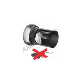 Připojovací odpadní trubka k WC s klapkou proti potkanům, POTKAN-STOP