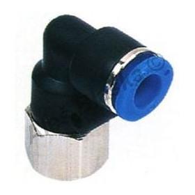 Pneumatická nástrčná spojka úhlová EPLF (kolínko) - vnitřní závit na vzduch (rychlospojka)