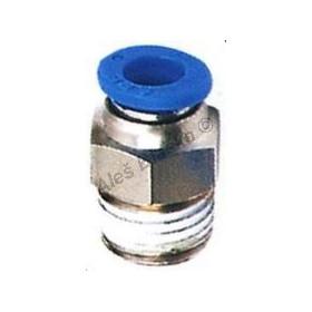 Pneumatická nástrčná spojka EPC přímá vnější kovová na vzduch (rychlospojka)
