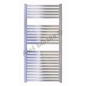 CM Koupelnový radiátor (žebřík) prohnutý barva chrom