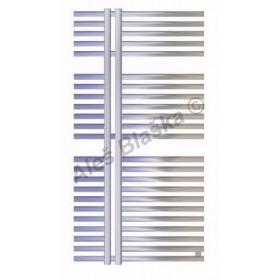 KR Koupelnový radiátor (žebřík) rovný barva metalická stříbrná