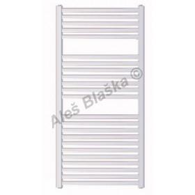 BKM Koupelnový radiátor (žebřík) prohnutý barva bílá
