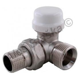 Termostatický radiátorový ventil rohový s eurokonusem (k radiátoru, žebříku)