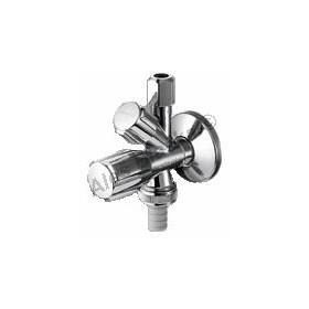 SCHELL Kombinovaný rohový ventil (pračkoroháček)