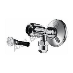 SCHELL Rohový regulační ventil s normálním filtrem (roháček)
