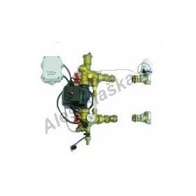 Směšovací jednotka pro podlahové vytápění pro vysokoteplotní zdroj tepla