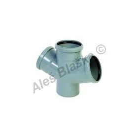 HTDA dvojodbočka 67° (HT kanalizační odpadní systém)