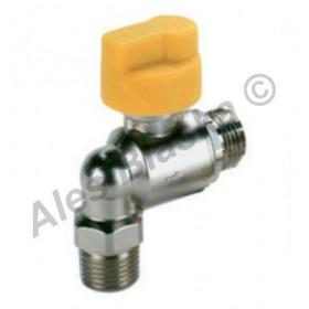Bezpečnostní kohout (ventil) na plyn rohový (plynový)
