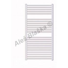 BKL Koupelnový radiátor (žebřík) rovný barva bílá