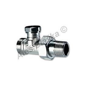 Regulační ventil přímý s eurokonusem (detentor připojení k radiátoru)