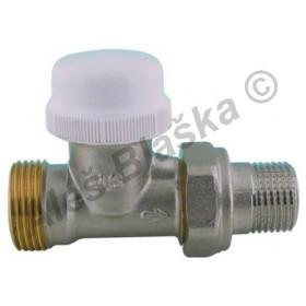 Termostatický radiátorový ventil přímý s eurokonusem (k radiátoru)