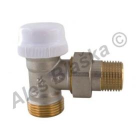 Termostatický radiátorový ventil rohový s eurokonusem (k radiátoru)
