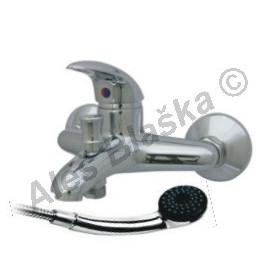 STENO ST 3044 vodovodní baterie páková nástěnná vanová s přísluš