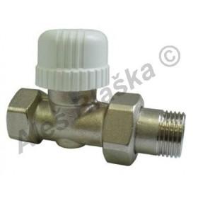 Termostatický radiátorový ventil přímý (kohout k radiátoru)
