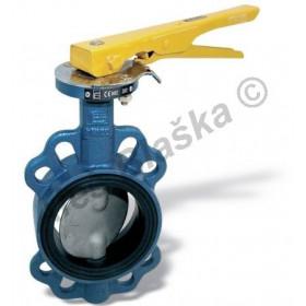 Uzavírací klapka na plyn mezipřírubová ATLANTIS 40 (plynová)