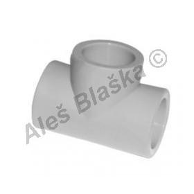 PPR T-kus F/F/F tvarovka plastová navařovací