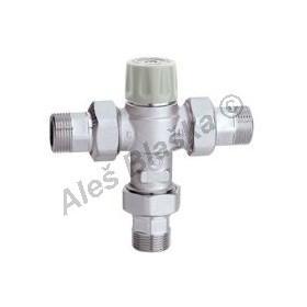 Termostatický směšovací ventil se šroubením uzavírací (5217 CALEFFI)