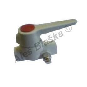 PPR kulový kohout (ventil) s vypouštěním s pákou plastový tvarovka navařovací