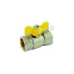 Kulový kohout (ventil) TORNADO na plyn s motýlem FF (plynový)