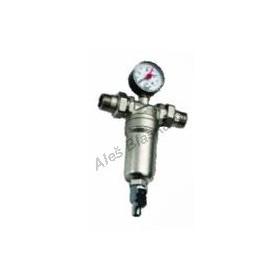 Odkalovací filtr s manometrem na vodu