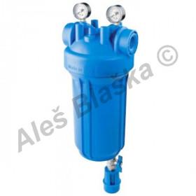 """filtr DP BIG 10"""" SENIOR MS s odkalením (filtr na vodu, vodní filtrace)"""