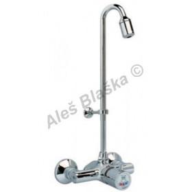 RIVER MINIMAGIC R 00749 Nástěnný tlačítkový časový směšovací ventil se sprchou