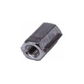 Závitová spojka - pozinkovaná ocel (šestihran)