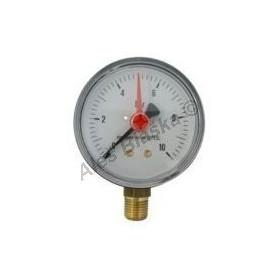 Manometr spodní vývod rozsah 0-10 bar - tlakoměr