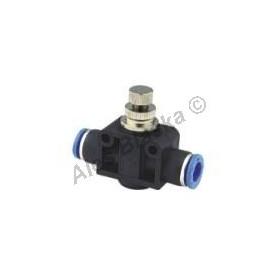Škrtící ventil přímý ESA (Pneumatická nástrčná spojka) na vzduch (rychlospojka)