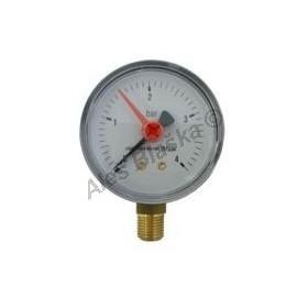 Manometr spodní vývod rozsah 0-4 bar - tlakoměr