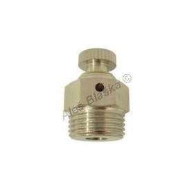 Ruční odvzdušňovací ventil celokovový
