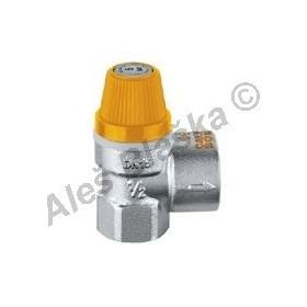 """Pojišťovací (pojistný) ventil 1/2"""" na solární systém (pojišťovák na vodu)"""