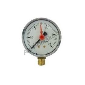Manometr spodní vývod rozsah 0-2,5 bar - tlakoměr