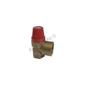 """Pojišťovací (pojistný) ventil 1/2"""" topenářský (pojišťovák na vodu)"""