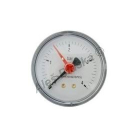 Manometr zadní vývod rozsah 0-4 bar - tlakoměr