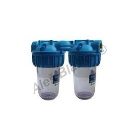 """ATLAS filtr domovní Senior Duplex Plus 3P BX velikost 10"""" dvojitý (filtrace vody-vodní filtr)"""