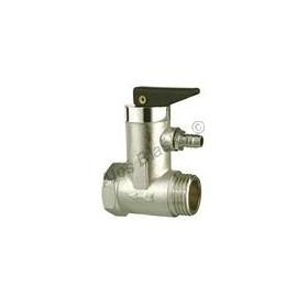 Pojistný (pojišťovací) ventil k bojleru s vypouštěním (pojišťovák na vodu)