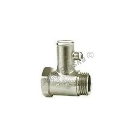 Pojistný (pojišťovací) ventil k bojleru (pojišťovák na vodu)