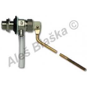 Plovákový ventil boční k WC s plovákem (napouštění záchodu)