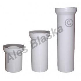 WC dopojení odpadu přímé DN110 - připojení odpad