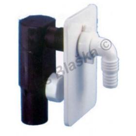 Sifon pračkový podomítkový bílý - odpad k pračce myčce