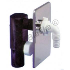 Sifon pračkový podomítkový CHROM - odpad k pračce myčce