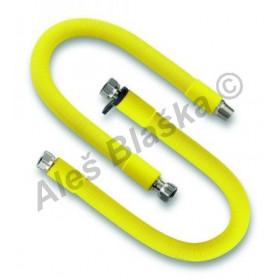 Hadice propojovací natahovací na plyn nerezová EMISUPER (přívodní připojovací hadička plynová)